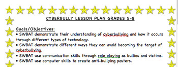 Cyberbully Lesson Plan