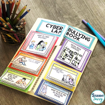 Cyberbullying Awareness and Internet Safety Lapbook FREEBIE