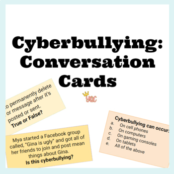 Cyberbullying Conversation Cards