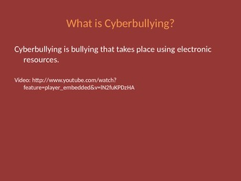 Cyberbullying Introduction