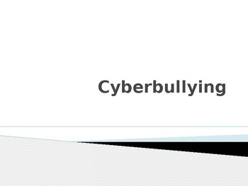 Cyberbullying PowerPoint