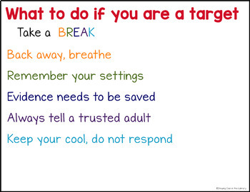 Cyberbullying PowerPoint and Activities (Cyber bullying)