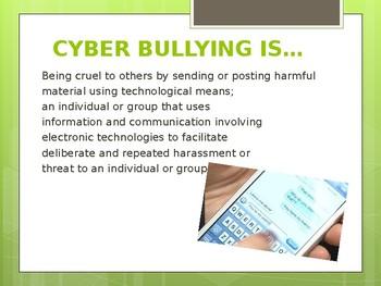 Cyberbullying Presentation