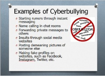 Cyberbullying: Presentation for Educators