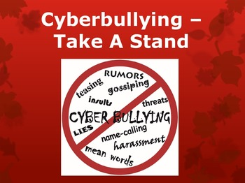 Cyberbullying Prevention Powerpoint