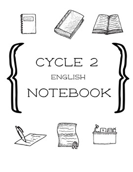 Cycle 2 English Activity Notebook ALL WEEKS (use w/ Classi