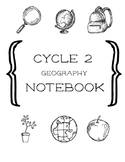Cycle 2 Geography 4th Ed. Notebook ALL WEEKS (use w/ Classical Conversations)