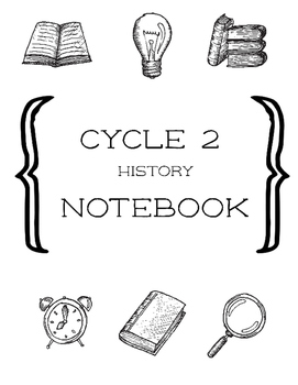 Cycle 2 History Fill-In Notebook Weeks 1-24 Helper Lines f