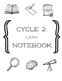 Cycle 2 Latin 4th Ed. Worksheet Notebook Weeks 1-24