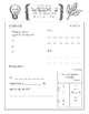 Cycle 2 Memory Work Review Sheets Weeks 1-24 (used w/ Clas
