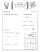 Cycle 2 Memory Work Review Sheets Weeks 13-24 (used w/ Cla