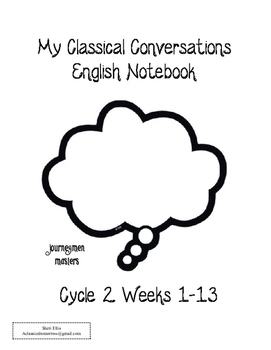 Cycle 2 Notebook - Classical Conversations - English Part