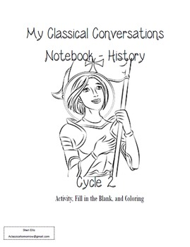 Cycle 2 Notebook - Classical Conversations - History - Weeks 1-24