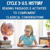 Cycle 3 US History Reading Passage Bundle (for use with Cl