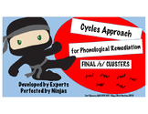 Cycles Approach FINAL /s/ clusters (/-ps, -ts, -ks, -sp, -st, -sk/)