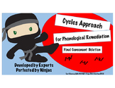 Cycles Approach Final Consonant Deletion /-p,-t,-k/