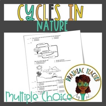 Cycles In Nature(Water, Carbon, Oxygen, and Nitrogen)