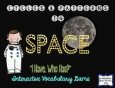 "Cycles & Patterns In Space Interactive Vocabulary Game ""I Have, Who Has?"" Cards"