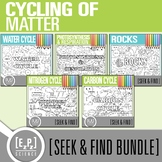 Cycles Seek and Find Science Doodle Pages Bundle