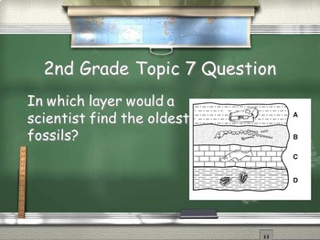 Cycles and Patterns of Earth and Space -  Smart 5th Graders Review Game