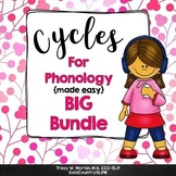 Cycles for Phonology - BIG BUNDLE  500+ pages!  ‪#‎btsreadywithtpt‬
