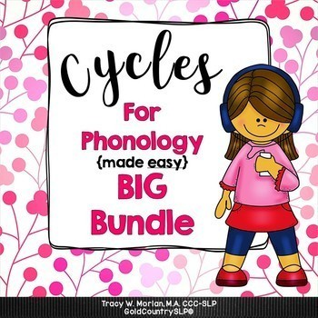 Cycles for Phonology - BIG BUNDLE  500+ pages! #cyclesforp
