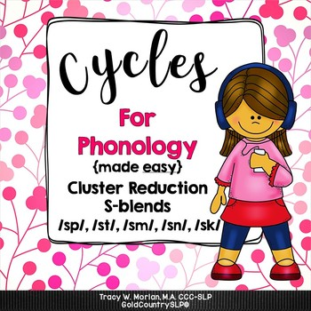 Cycles for Phonology CR Cluster Reduction S-blends