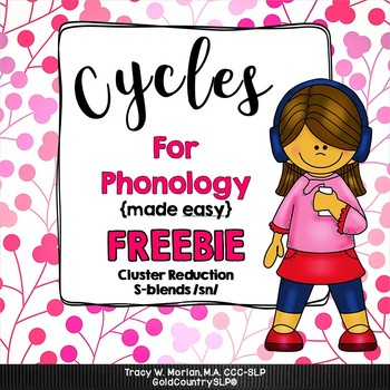 Cycles for Phonology FREEBIE & BONUS