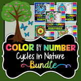 Cycles in Nature - Color By Number Bundle - Save Over 30%