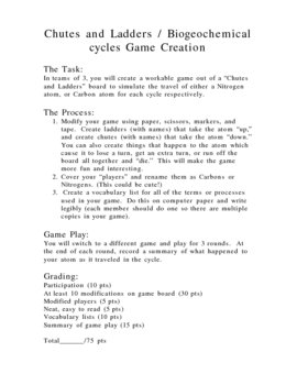 Cycles in Nature Game Project
