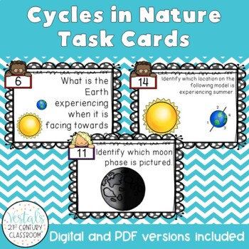 Cycles in Nature Task Cards