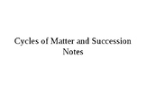 Cycles of Matter Presentation