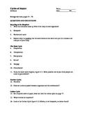Cycles of Matter Worksheet