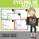 Cycling of Matter Science Task Cards - Chalk Talk Art in Science
