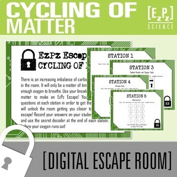Cycling of Matter Science Escape Room