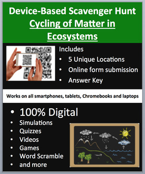 Cycling of Matter in Ecosystems – Device-Based Scavenger H