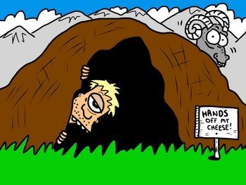 Cyclops cartoon/art for the odyssey