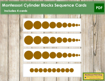 Cylinder Blocks - Sequence Cards