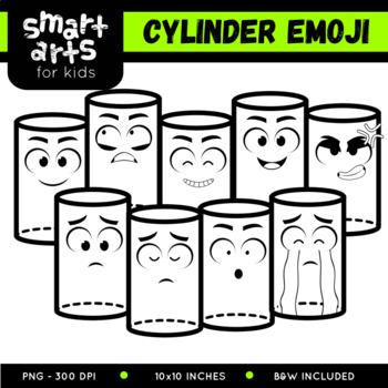 Math Cylinder Emoji Clip Art