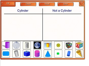 Cylinder Math Smart Notebook