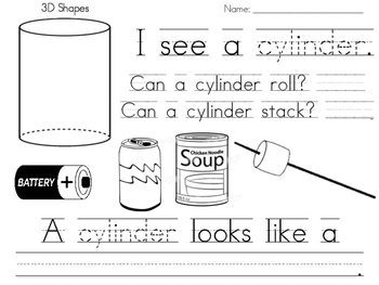 Cylinder Practice Page