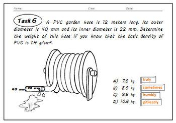 Cylinder - Volume & Surface Area