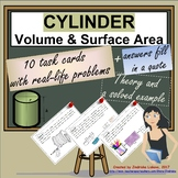 Cylinder - Volume & Surface Area