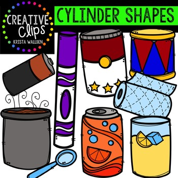 Cylinder Clipart {Creative Clips Clipart}