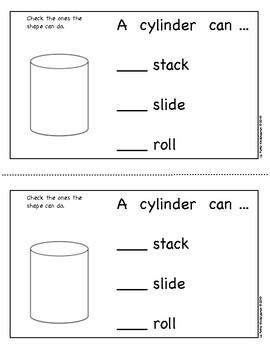 Cylinders Emergent Reader
