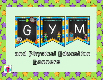Gym and Physical Education Banner
