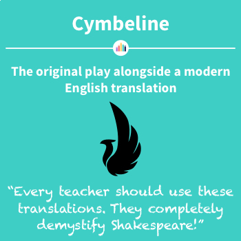 Cymbeline: the Original Play Alongside a Modern English Translation