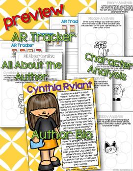 Cynthia Rylant Author & Book Study {CCSS}