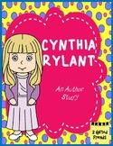 Cynthia Rylant: Author Study