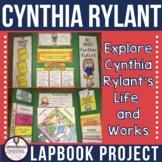 Cynthia Rylant Author Study Lapbook